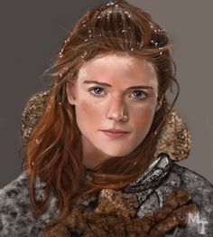 Ygritte by turkill | Game of Thrones art, GoT, Fantasy