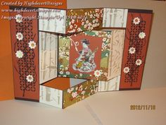 Oriental Screen Tri-fold Shutter by HighdesertStamper - Cards and Paper Crafts at Splitcoaststampers