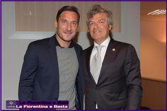 Giancarlo Antognoni e Francesco Totti