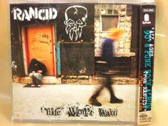 CD/Japan- RANCID Life Won't Wait +1 bonus trk w/OBI RARE ESCA-6950 ORIGINAL 1998