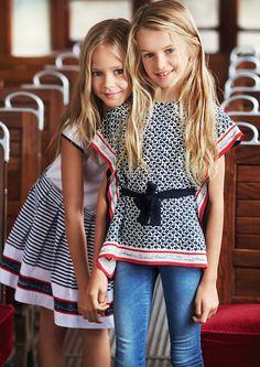 Armani Junior moda infantil elegante y refinada