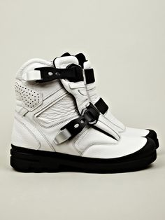 Aldo for JW Anderson Men's Boots in white / black at oki-ni