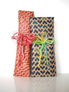 heart wrapping paper for him and for her