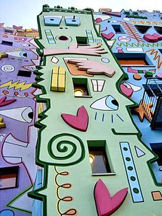 The Happy Rizzi House in Braunschweig  Germany
