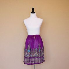 Purple Mini Skirt, Sequined Gypsy Skirt by DelhiDaze, $28.00 Short Skirts, Mini Skirts, Gypsy Skirt, Boho Skirts, Modest Fashion, Sequin Skirt, Two Piece Skirt Set, Bohemian, Indian
