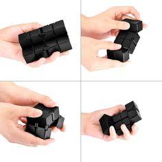 ❤️X2 infinity Sensory cube,finger Play gadgets Fidget Cube❤️