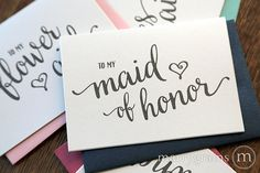 The ORIGINAL wedding note card!™  These absolutely adorable note cards are made with high quality white shimmer cardstock and are perfect for