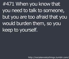 Carrying burdens is my job.