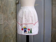 1950s Embroidered Mexican Apron