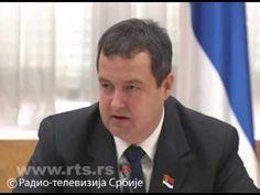 Пијан Дачић: Лаж је да се успоставља граница