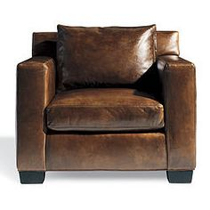 Ralph Lauren Graham Chair Distressed Leather