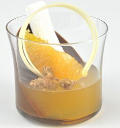 Gianduja Cremeux By Chef Eddy Van Damme  Cocktails As Food