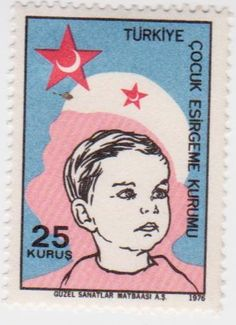 Turkey Red Cross & Nurses Stamp.
