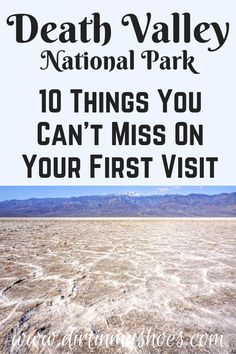 See the best hikes and viewpoints in Death Valley National Park with this list of things you can't miss -- written by a former park ranger! National Park Tours, Death Valley National Park, California National Parks, Us National Parks, Rocky Mountain National Park, California Travel, Beautiful Places In California, Hiking With Kids, Park Around