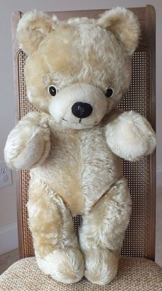 Dolls & Bears Annette Funicello Collectible Bear Co Pink Mohair Flat Bear Rug W/ Bear Keep You Fit All The Time
