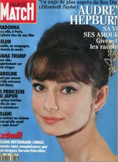Audrey Hepburn - Paris Match Magazine [France] (4 February 1993)