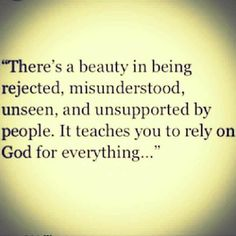 I wouldn't say there's beauty (maybe ultimately yes, but def not at first glance!), there is growth that occurs and a greater reliance upon God. Faith Quotes, Bible Quotes, Me Quotes, Bible Verses, Qoutes, Scriptures, Oprah Quotes, Godly Quotes, Quote Life