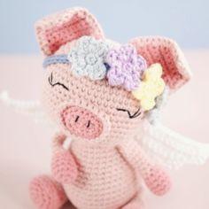 Pippa Pig amigurumi pattern by LittleAquaGirl
