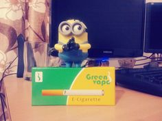 Tushar and his minion are happy to receive their e-cigarette in less than 24 hours at their doorstep..  He vows to stops smoking tobacco now..  http://www.clickoncare.com/index.php/personal-care/misc/smoking-cessation
