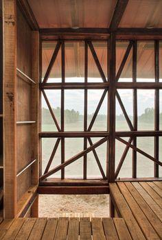 Galeria de Hut-to-Hut / Rintala Eggertsson Architects - 12 Indian Architecture, Contemporary Architecture, Architecture Details, Interior Architecture, Trondheim, Rustic Design, Modern Design, Hut Images, Timber Buildings