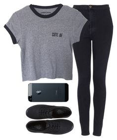 """Untitled #930"" by alexa432 ❤ liked on Polyvore featuring Topshop, Vans, women's clothing, women, female, woman, misses and juniors"