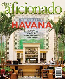 """Havana—The Insider's Guide"" in the Nov/Dec 2011 Issue of Cigar Aficionado Magazine"
