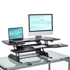 Varidesk Pro Plus 48 Height Adjustable to 457mm