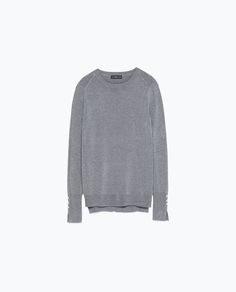 ROUND NECK SWEATER - Knitwear - WOMAN | ZARA Finland
