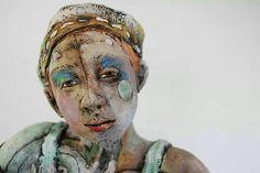 Figurative ceramic sculpture by Marni Gable