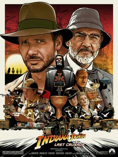 Old Movies, Great Movies, Harison Ford, Indiana Jones Films, Indiana Jones Last Crusade, Film Science Fiction, Bon Film, Adventure Movies, Vintage Movies