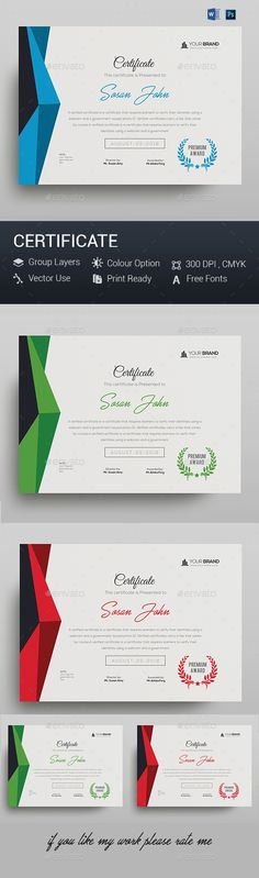 Certificate - #Certificates Stationery