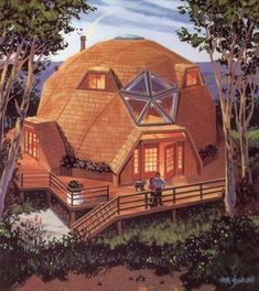 5 dome house display models that are resistant to natural disasters - architecturian Shed Plans, House Plans, Dome Structure, Geodesic Dome Homes, Dome House, Building A Shed, Round House, House Layouts, Architecture Design