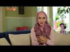 Tutorial Hijab Simple Girly #HijabPedia - YouTube