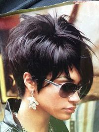 Funky hairstyle is best reflection for strong personality