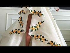 beautiful malti color follawr derrss hand work derrss flower design# han... Design Youtube, News Design, Flower Designs, Designer Dresses, Beautiful Dresses, Kimono Top, African, Color, Store