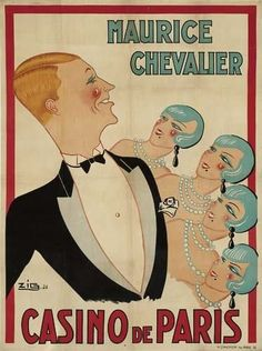 1926 Casino de Paris, Maurice Chevalier