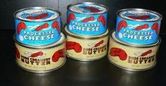 Red Feather Canned Butter and Cheese | Red Dawn $8   No expiration date when stored properly. Made in Australia because some people there have no refrigeration which I find is a neat concept. Probably tastes bad but a good source of fats and protein in an emergency situation.