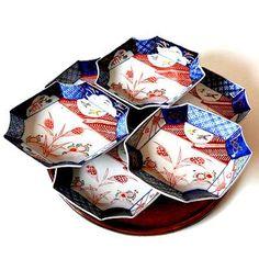 江戸期古伊万里金襴手菱形皿 http://dormitorica.com/?pid=104515682