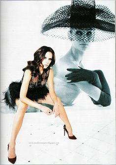 Victoria Beckham Vogue Turkey, via Flickr.