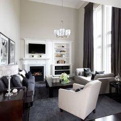 Contemporary Family Room Design, Pictures, Remodel, Decor and Ideas - page 2