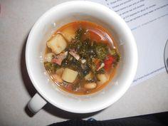 Spanish Kale Soup - Dinner tonight yum!