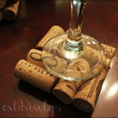 Coasters. Great house warming gift, or excuse to drink some wine. ;)
