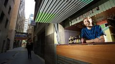Entrepreneur Simon Griffiths is opening a bar called Shebeen in Manchester Lane in the CBD, with profits going towards  projects in Third World countries.