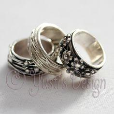 Zilverklei Ringen | Silver Clay Rings