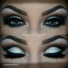 """By @MaquillateconAurora GB Details ★ EYE MAKEUP with @motivescosmetics by Ridinger products : -Eye shadow base on top and lower eyelids -Pressed Eye Shadow in BLIZZARD to highlight brow bone -Pressed Eye Shadow in CAPPUCCINO as transition color on the crease #AnastasiaBeverlyHills #houseoflashes #Motivescosmetics #auroramakeup"""" Motives products can be found here: www.my123beauty.com"""
