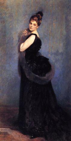 John Singer Sargent (1856-1925) - Mrs. George Gribble 1888