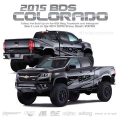 2015 Chevy Colorado That LED bar under the grill looks sick