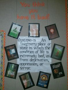 dystopian literature circles study by The Middle School Mouth - he is a blogger that teaches science and language arts