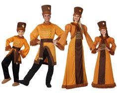 Familia de Rusos #disfraces #carnaval #disfracesparagrupos