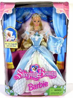 1998 Sleeping Beauty Barbie Matel